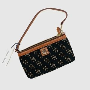 Dooney & Bourke Large Slim Wristlet Brand New With Tags